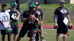 Saskatchewan Huskies quarterbacks plan on pushing each other this season